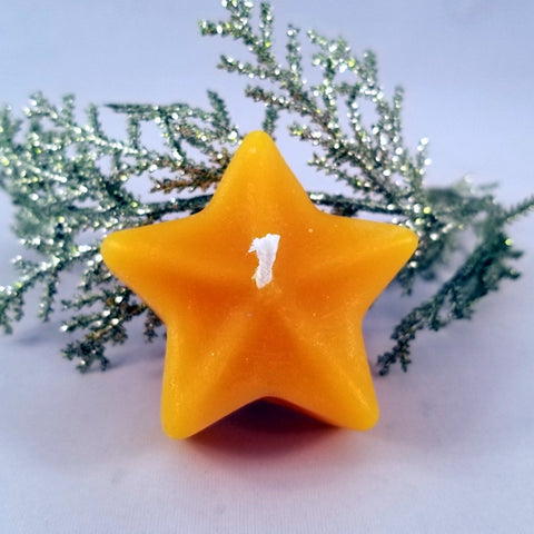 Floating Star Candle