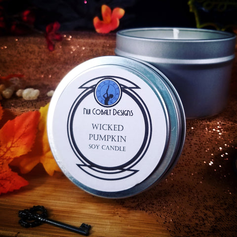 Wicked Pumpkin Soy Candle