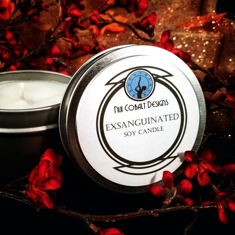 Exsanguinated Soy Candle
