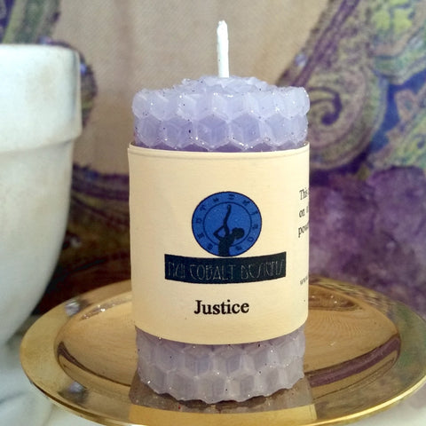 Justice Mini Candle - Nui Cobalt Designs