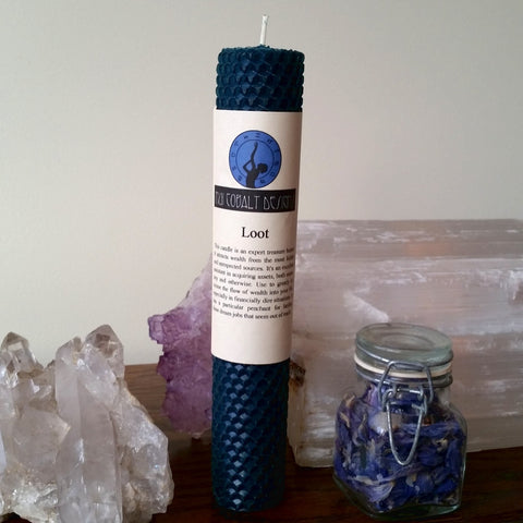 Loot Enchanted Candle - Nui Cobalt Designs