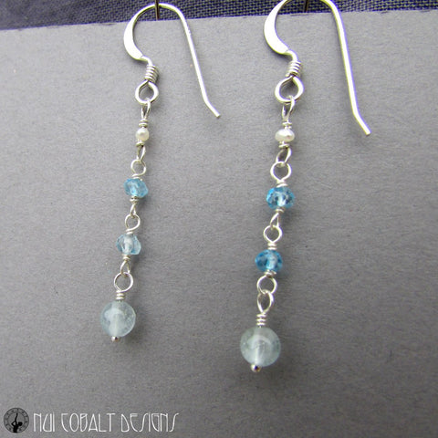Mariamman's Earrings - Nui Cobalt Designs - 1