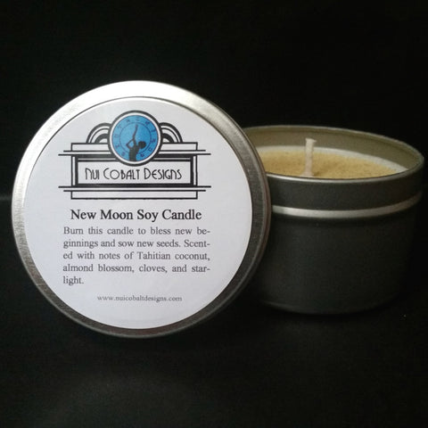 New Moon Spell Soy Candle