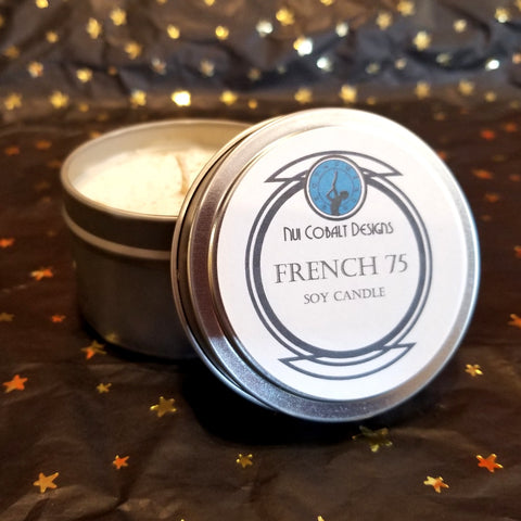 French 75 Soy Candle
