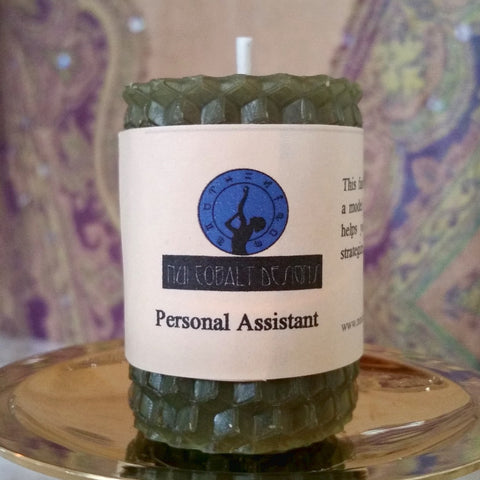 Personal Assistant Mini Candle - Nui Cobalt Designs
