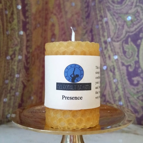 Presence Mini Candle - Nui Cobalt Designs
