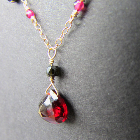 Ruby Talisman by Nui Cobalt Designs