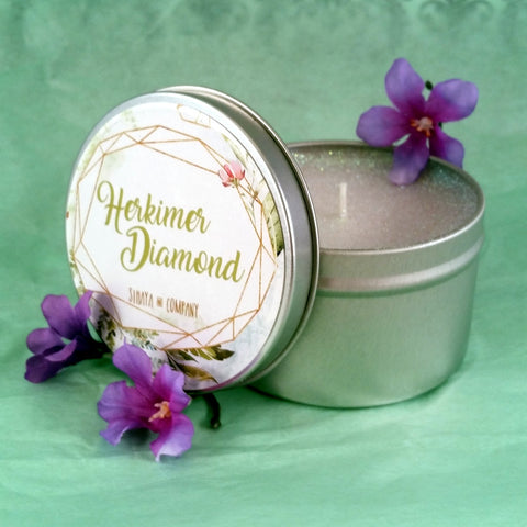 Sihaya: Herkimer Diamond Candle
