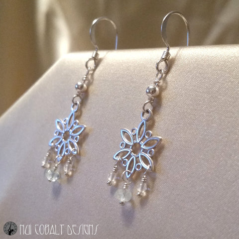 The Snow Queen Earrings - Nui Cobalt Designs - 1