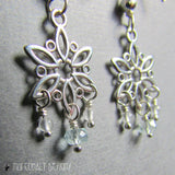 The Snow Queen Earrings - Nui Cobalt Designs - 3