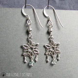 The Snow Queen Earrings - Nui Cobalt Designs - 4