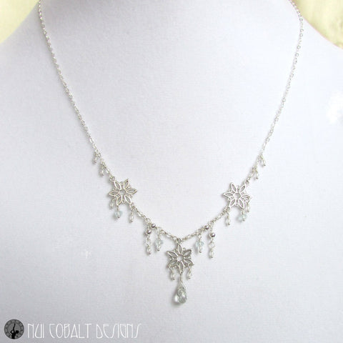The Snow Queen Necklace - Nui Cobalt Designs - 1
