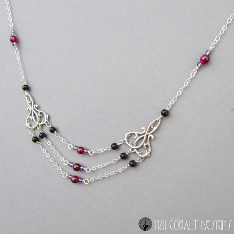 The Spider's Stratagem Necklace - Nui Cobalt Designs - 1