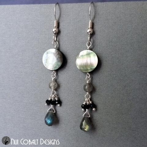 Storm Moon Earrings