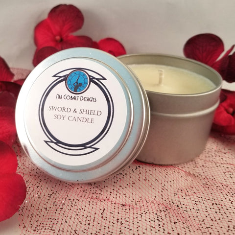 Sword & Shield Soy Candle