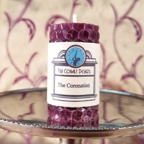 The Coronation Mini Candle