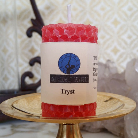 Tryst Mini Candle - Nui Cobalt Designs