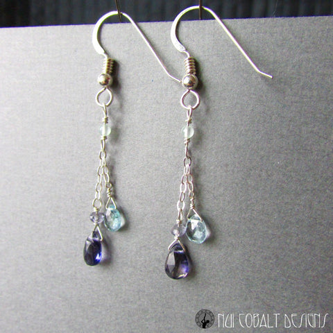 Undine Earrings - Nui Cobalt Designs - 1