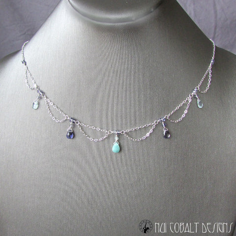 Undine Necklace - Nui Cobalt Designs - 2