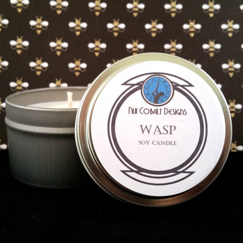 Wasp Soy Candle