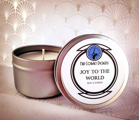 Joy to the World Soy Candle