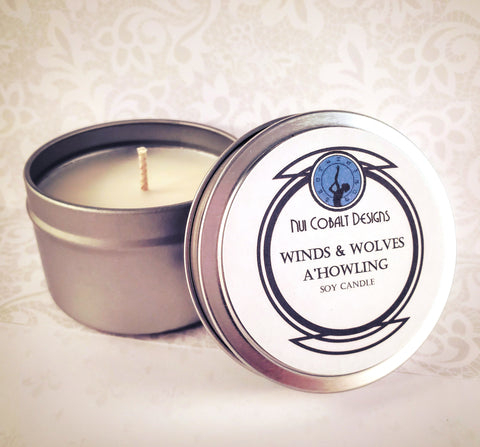 Winds and Wolves a'Howling Soy Candle