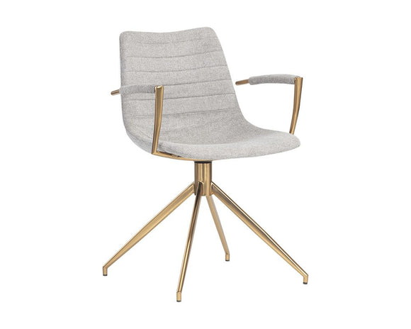 ANSON SWIVEL DINING CHAIR