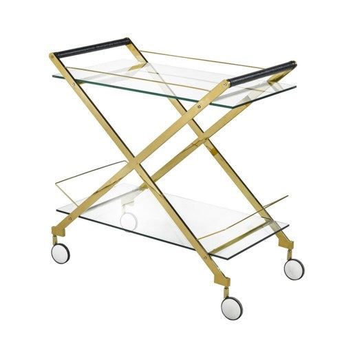 TRIANGLE BAR CART