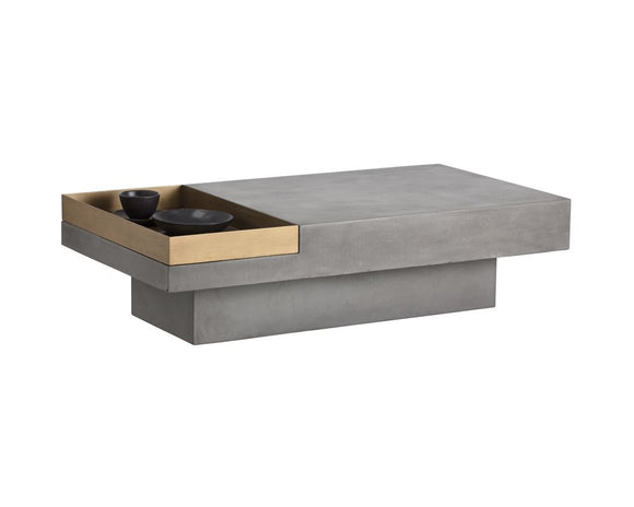 KOI RECTANGULAR COFFEE TABLE