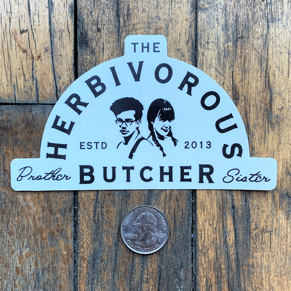 Brother and Sister Butcher Sticker