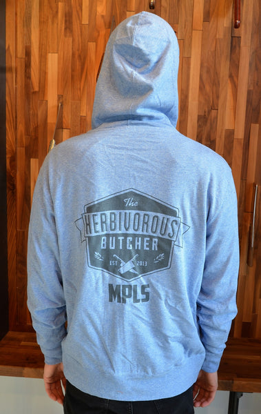 Hoodie (Light Blue Heather)