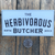 Herbivorous Butcher Logo Sticker