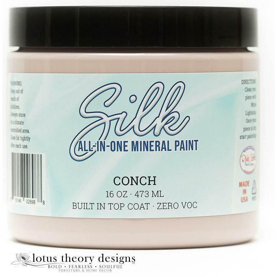 Dixie Belle Paint -  Silk All-In-One Mineral Paint - Conch