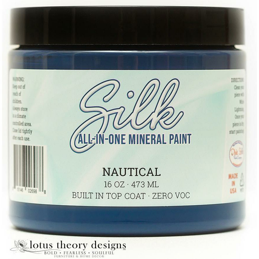 Dixie Belle Paint -  Silk All-In-One Mineral Paint - Nautical