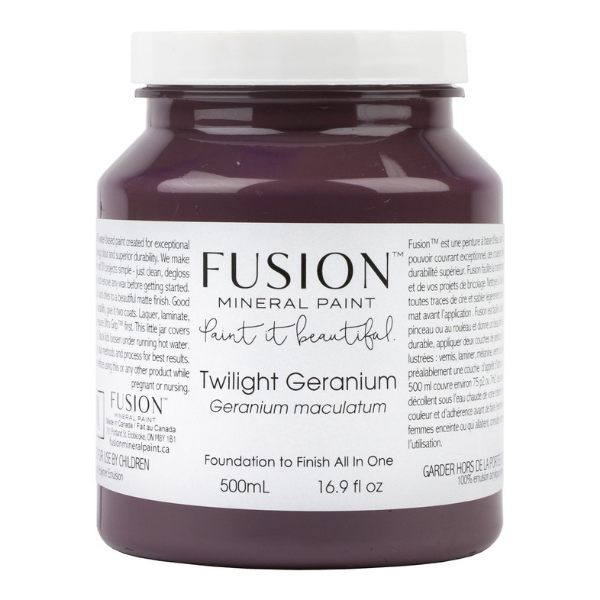 Copy of Fusion Mineral Paint - Lisa Marie Holmes Twilight Geranium
