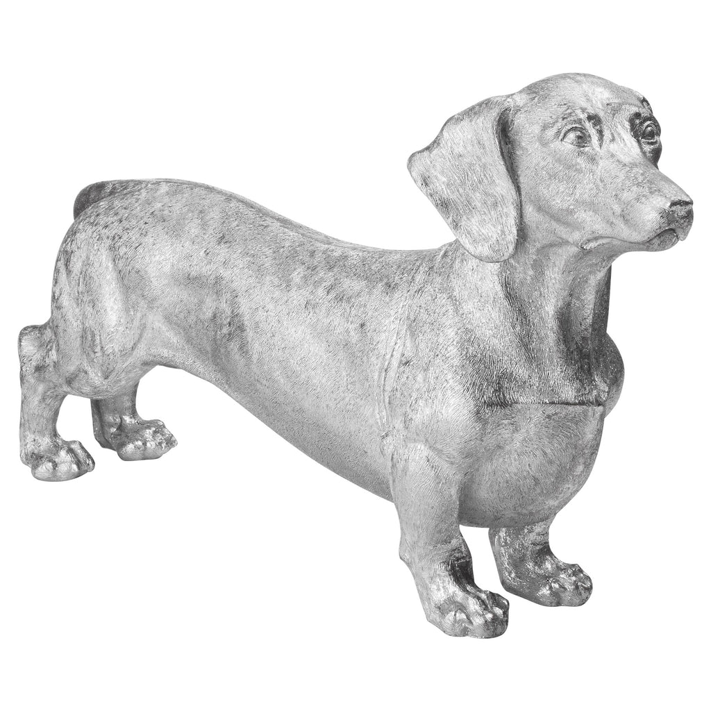 Buddy The Dachshund Metallic Ornament