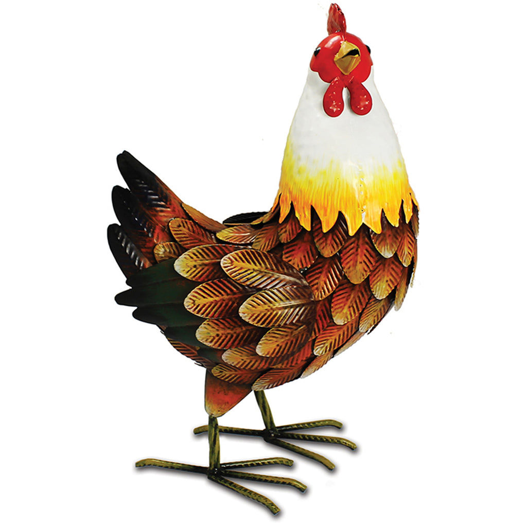 Farmyard Metal Hen