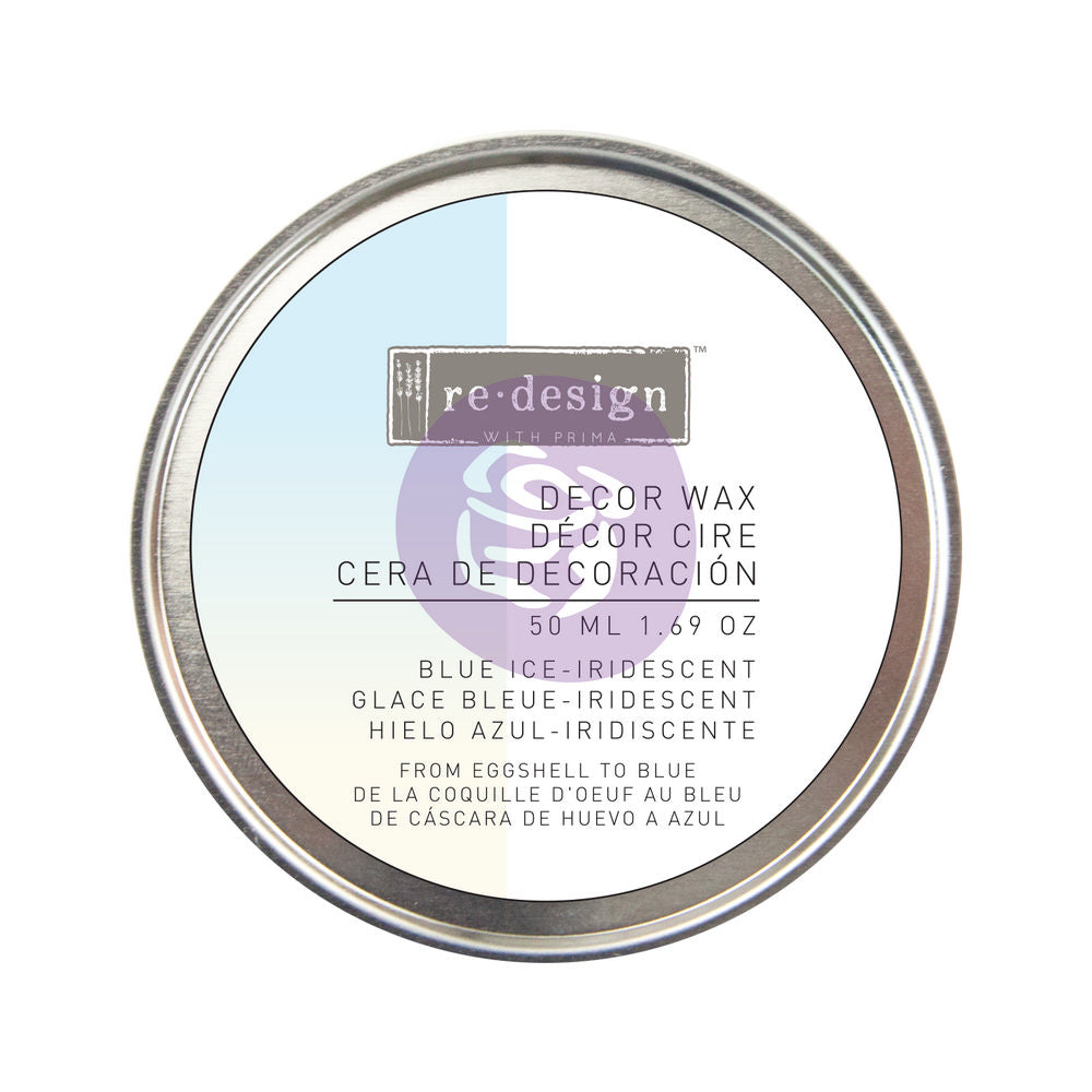 REDESIGN WITH PRIMA - BLUE ICE IRIDESCENT DECOR WAX