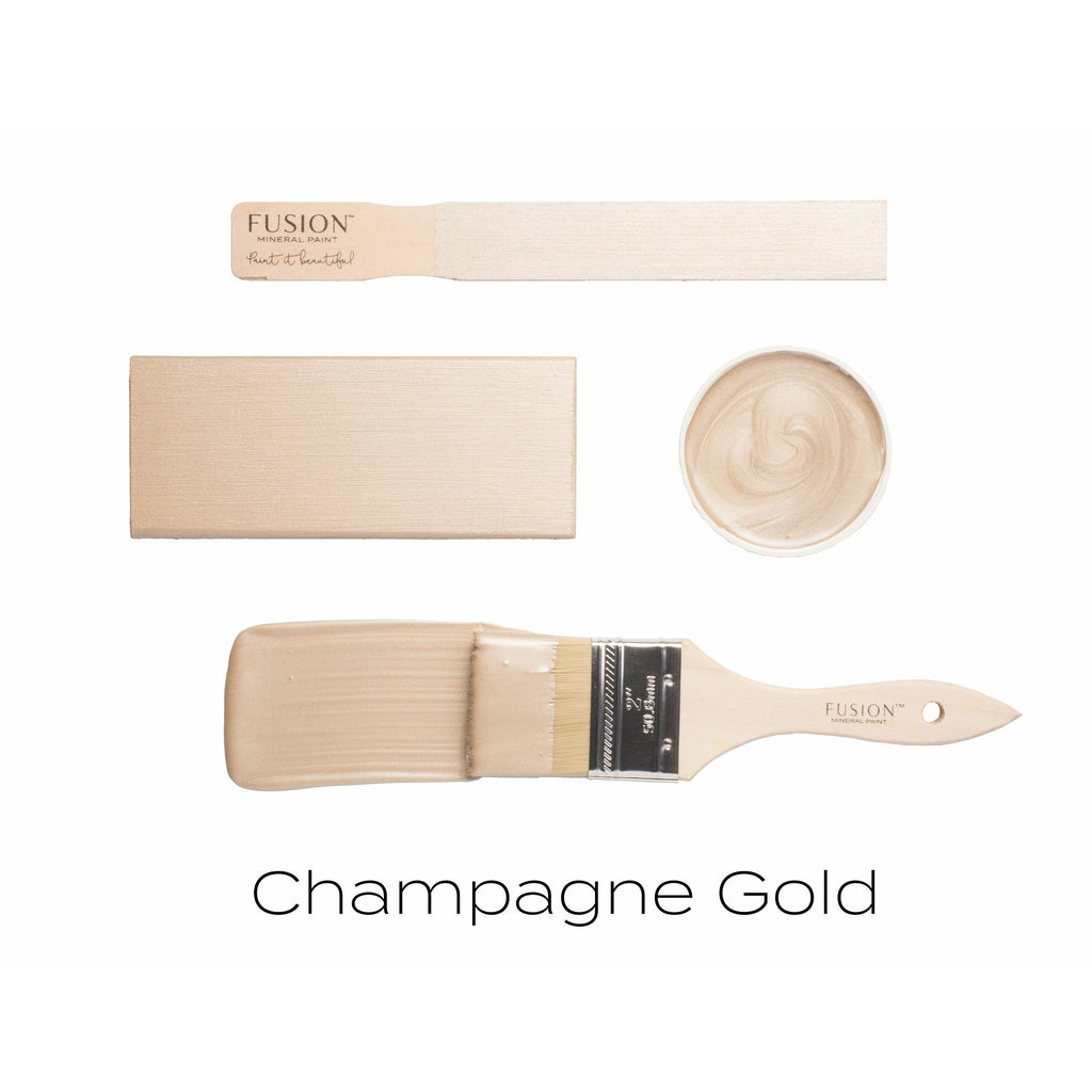 Fusion Mineral Paint - Champagne Gold