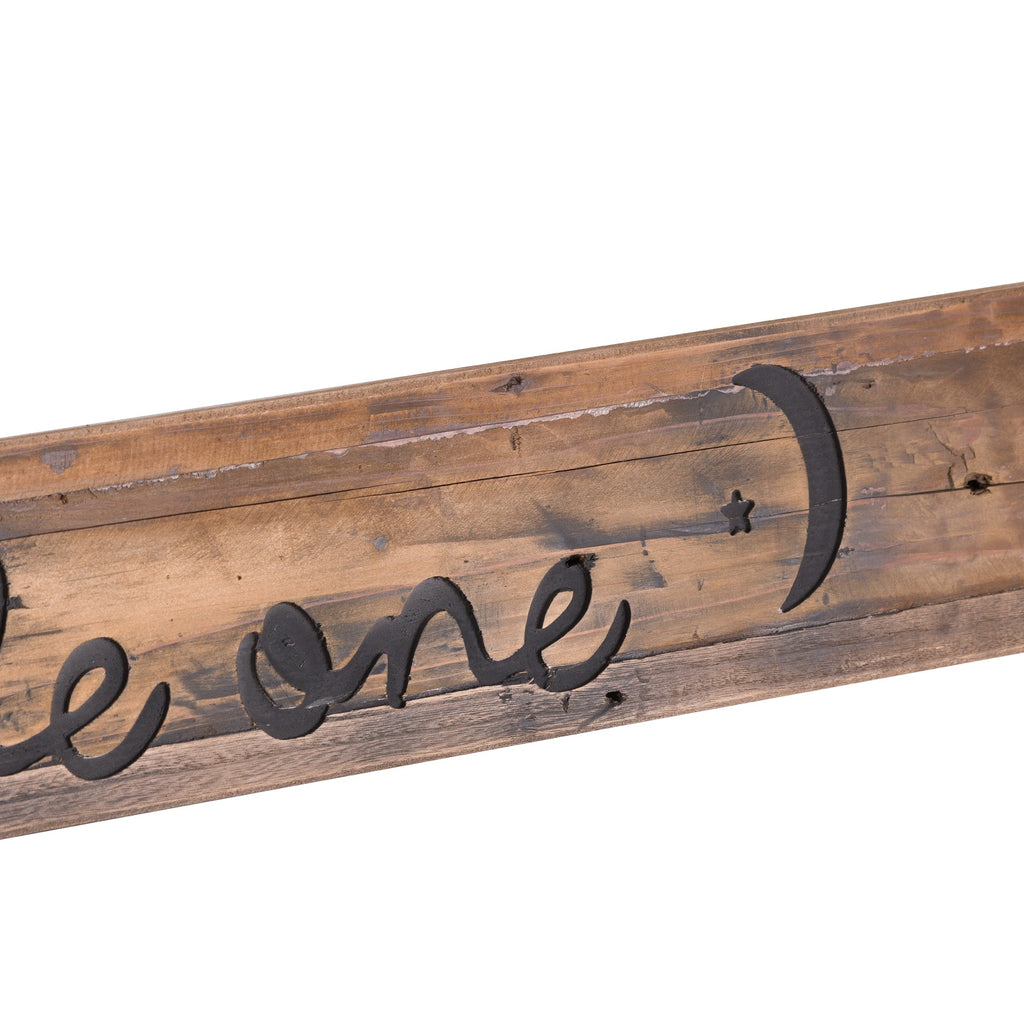 Dream Big Rustic Wooden Message Plaque