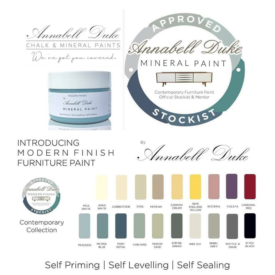 Annabell Duke Mineral Paint Milk White
