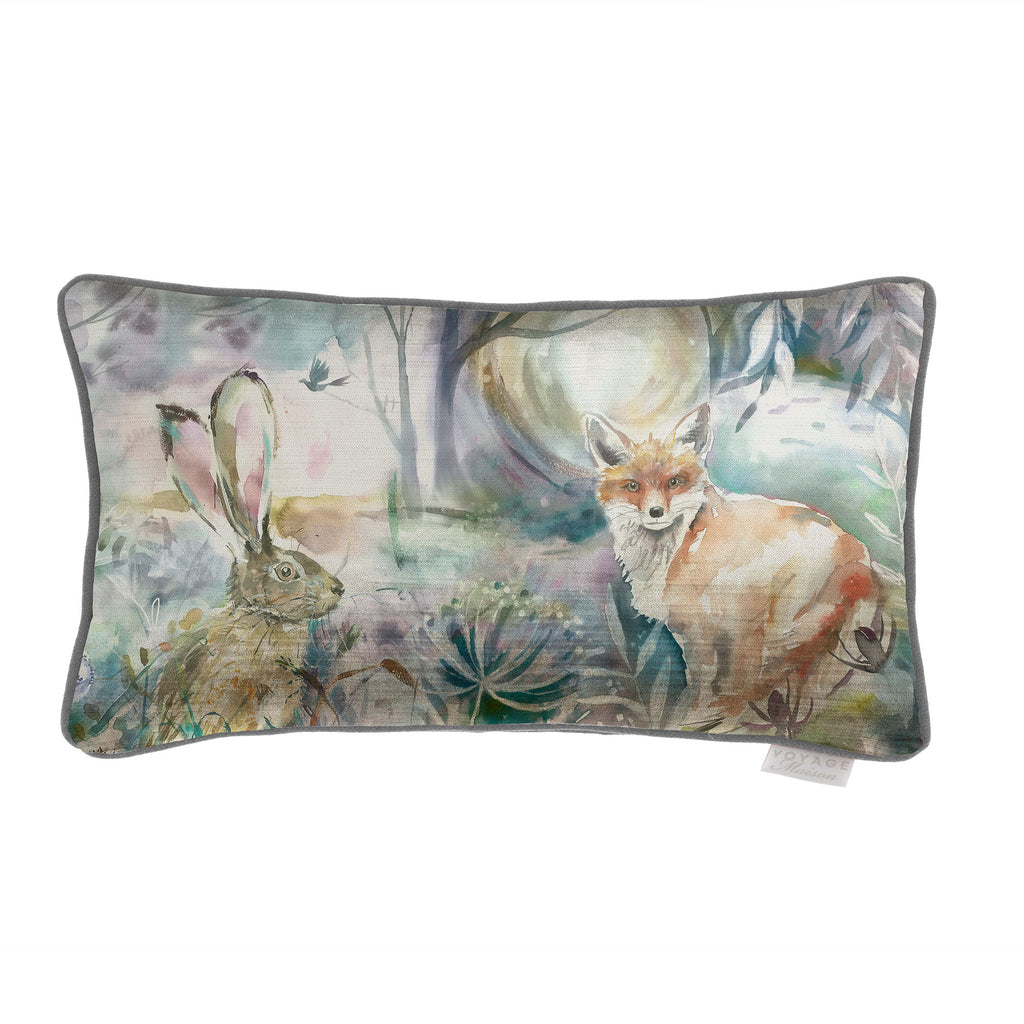 Voyage Maison Fox And Hare Velvet Cushion