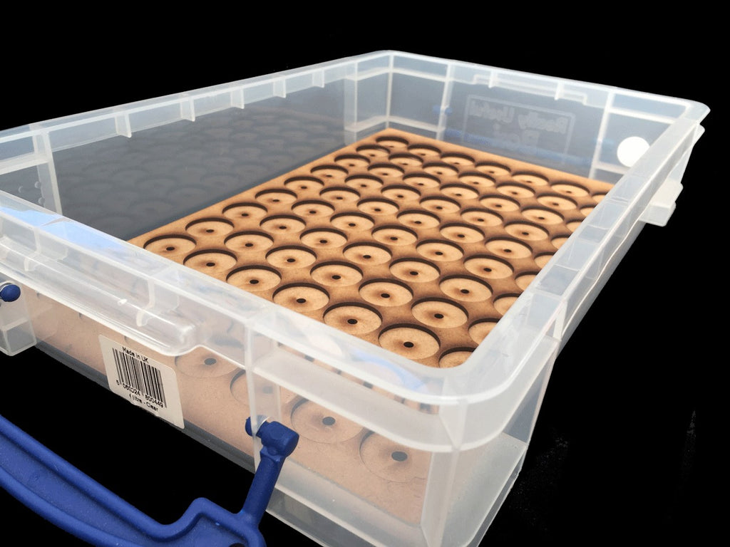 Storage Tray A ( Box liner for 77 Models ) On 25mm round bases