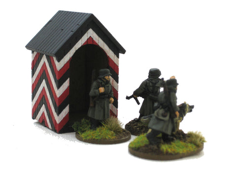 28mm 1:56 German Sentry Box