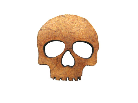Large Skull Tokens 2mm MDF set of  16