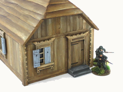 "28mm 1:56 Eastern Front ""Rural House 3"""