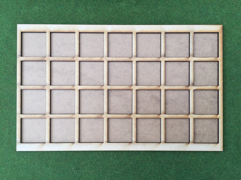 Storage tray 40mm Square (Box liner tray for 28 models)