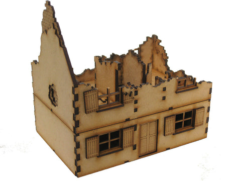 "28mm 1:56 ""Ruined House 3"""