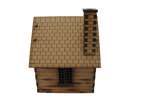 "28mm 1:56 Eastern Front ""Cabin"""