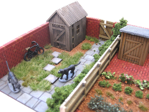 "28mm 1:56 ""The Terrace"" Back Yard"